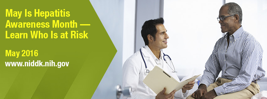 NIDDK May Is Hepatitis Awareness Month - Learn Who Is at Risk