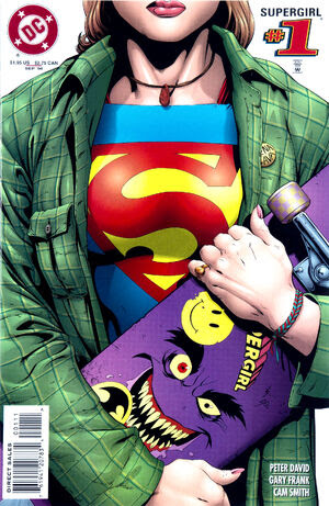 Cover for Supergirl #1 (1996)