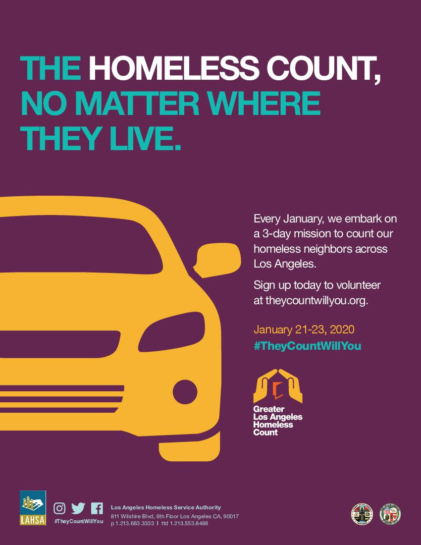 Homeless Count 1-21 to 1-23-2020