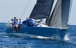 J/125 sailing Transpac Race