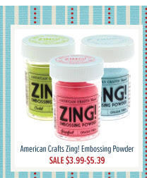 American Craft Zing! Embossing Powder