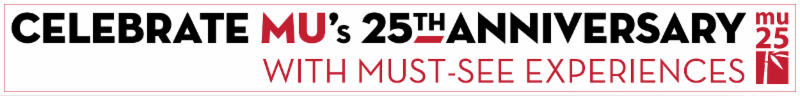 Celebrate Mu's 25th Anniversary