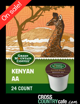 Green Mountain Kenyan AA Keurig K-cup coffee