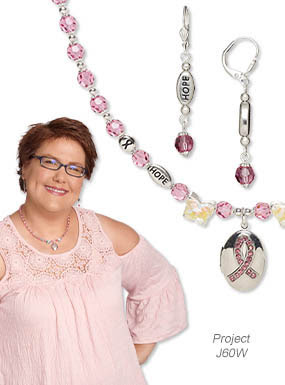 Single-Strand Necklace and Earring Set (Project J60W)