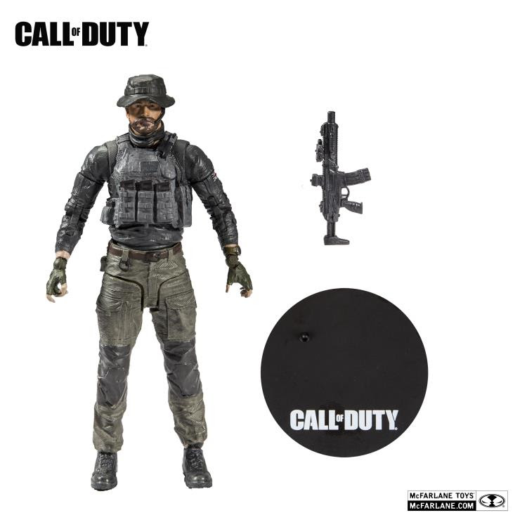 "Image of Call of Duty Captain Price 7"" Scale Action Figure"