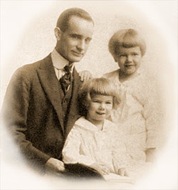 Napoleon Hill et ses deux fils