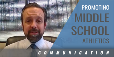 Promoting Middle School Athletics Through Streaming - Click to Watch Video