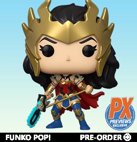 Pop! Heroes: Dark Nights: Death Metal - Wonder Woman PX Previews Exclusive