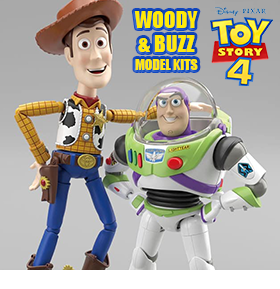 Toy Story Cinema-rise Model Kits