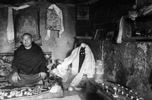 Spiti, mnich 2016