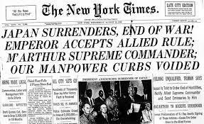 Image result for japan unconditional surrender