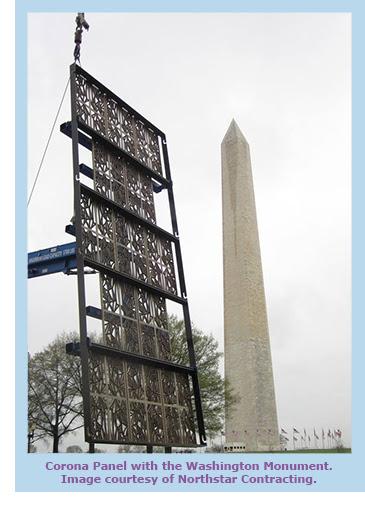 Corona Panels with Washington Monument