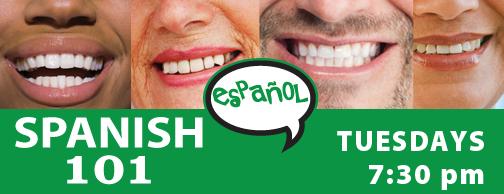 Spanish 101 - at Visual Voice Jan 2020
