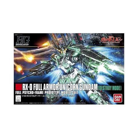 Image of 1/144 HG RX-O Full Armor Unicorn Gundam - Full Psycho Frame