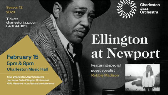 email-campaign-image Heritage Travel: Charleston Jazz Orchestra Presents Ellington at Newport