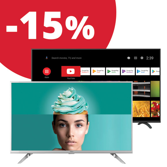 Kuponnapok - Tesla TV akció