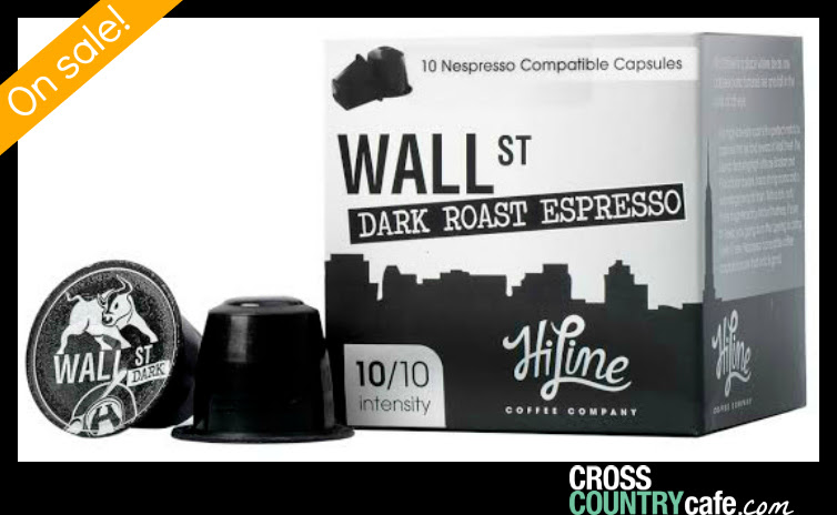 Wall St Nespresso Compatible Coffee Capsules