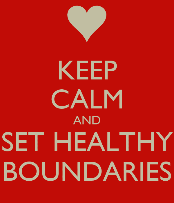 Image result for healthy boundaries