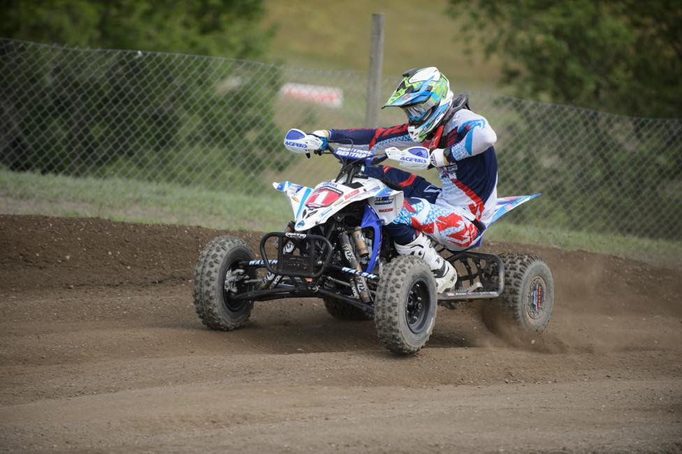 Chad Wienen heads into the RedBud ATVMX Nationalwith a 22-point lead over the rest of the field.Photo: Ken Hill
