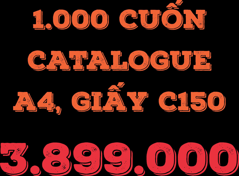 THIẾT KẾ MIỄN PHÍ 1000 tờ rơi 589.000, 1.000 cuon Catalogue 3.899.000, - 4
