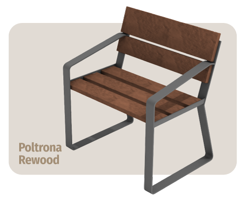 banco de madeira plástica rewood que não estraga com sol ou chuva