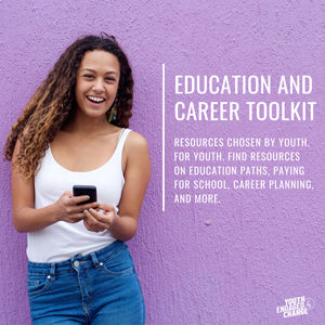Click here for more information on the new Education and Career Toolkit