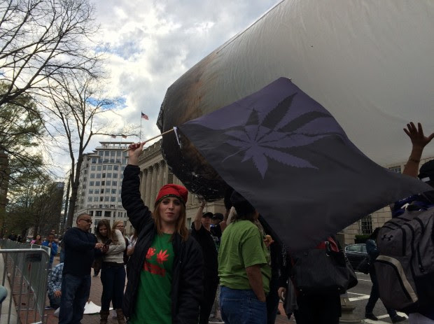 Weed Protest At White House (Connor D. Wolf/DCNF)