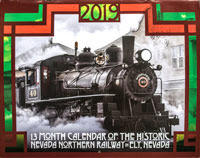 Official 2019 Calendar of the Nevada Northern Railway