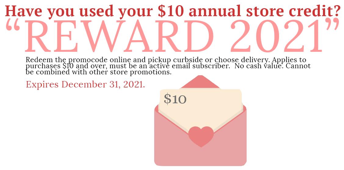 Reward 2021