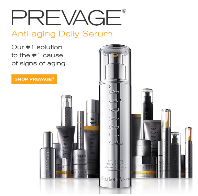 PREVAGE® Anti-aging Daily Serum. Our #1 solution to the #1 cause of signs of aging. SHOP PREVAGE® »