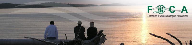 FOCA Banner people at lake