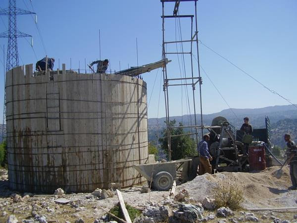 Rehabilitation of Water Tank in Hima Upper Akkar as part of the SEARCH Project