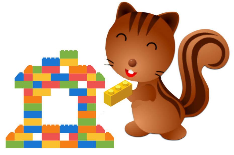 Legos with Chippie