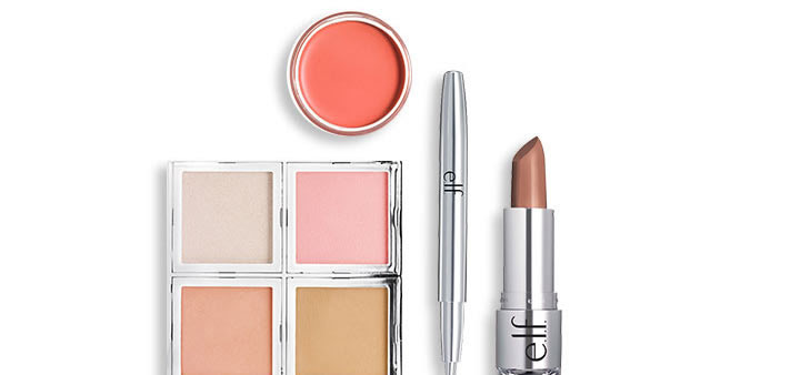 Radiant cheeks + color-kissed.
