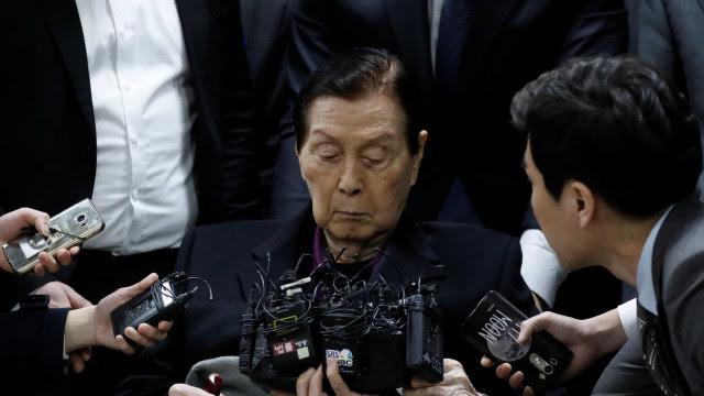 Morreu o fundador do grupo económico sul-coreano Lotte