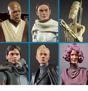 "STAR WARS: THE BLACK SERIES 6"" WAVE 31 FIGURES"