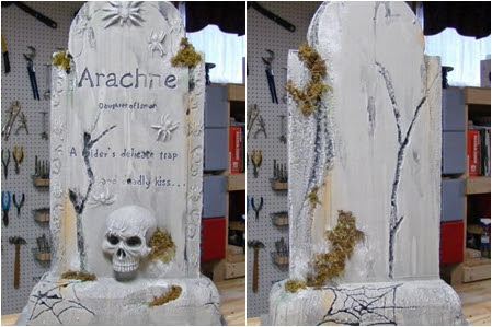 Image result for diy tombstone