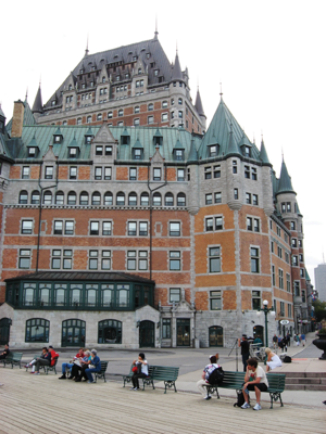 Château Frontenac, Québec, Canada. Photo courtesy of Peter J. Marsh