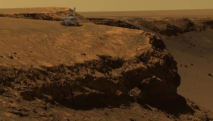 How NASA's Opportunity Rover Made Mars Part of Earth image