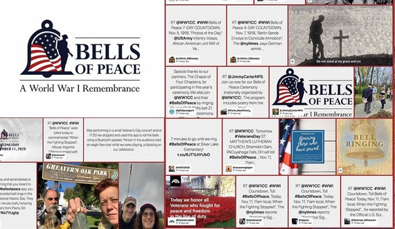 Bells of Peace National Bell Tolling