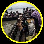 As pessoas de Rohingya estão sendo atacadas e mortas em Myanmar.