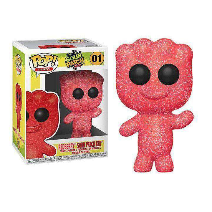 Image of Pop! Candy: Sour Patch Kids Redberry Sour Patch Kid - FEBRUARY 2019