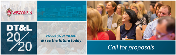 DT&L 20/20. Focus your vision & see the future today. Call for proposals.