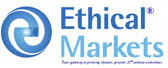 Link to EthicalMarkets.com | Supporting the emergence of a sustainable, green, ethical and just economy worldwide