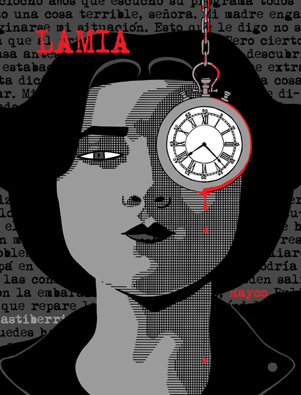 Lamia, la novela gráfica de Rayco Pulido