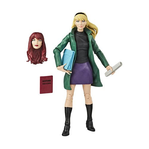 Image of Spider-Man Retro Marvel Legends Gwen Stacy 6-Inch Action Figure