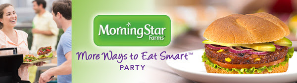 MorningStar Farms® More Ways to Eat Smart Party House Party