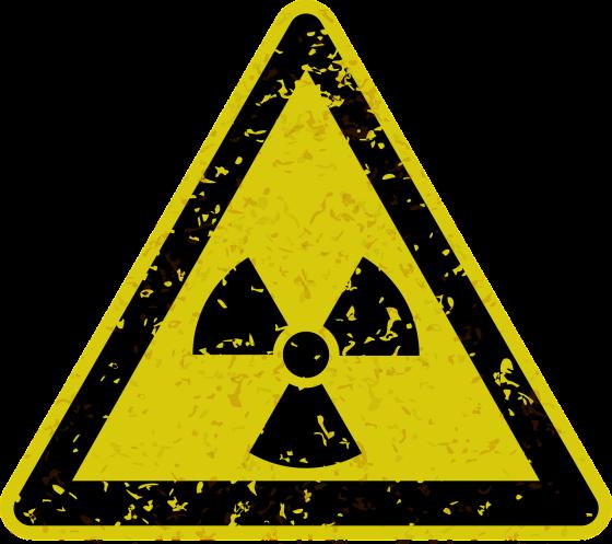 Señal de peligro, radiactividad Joan Carles López