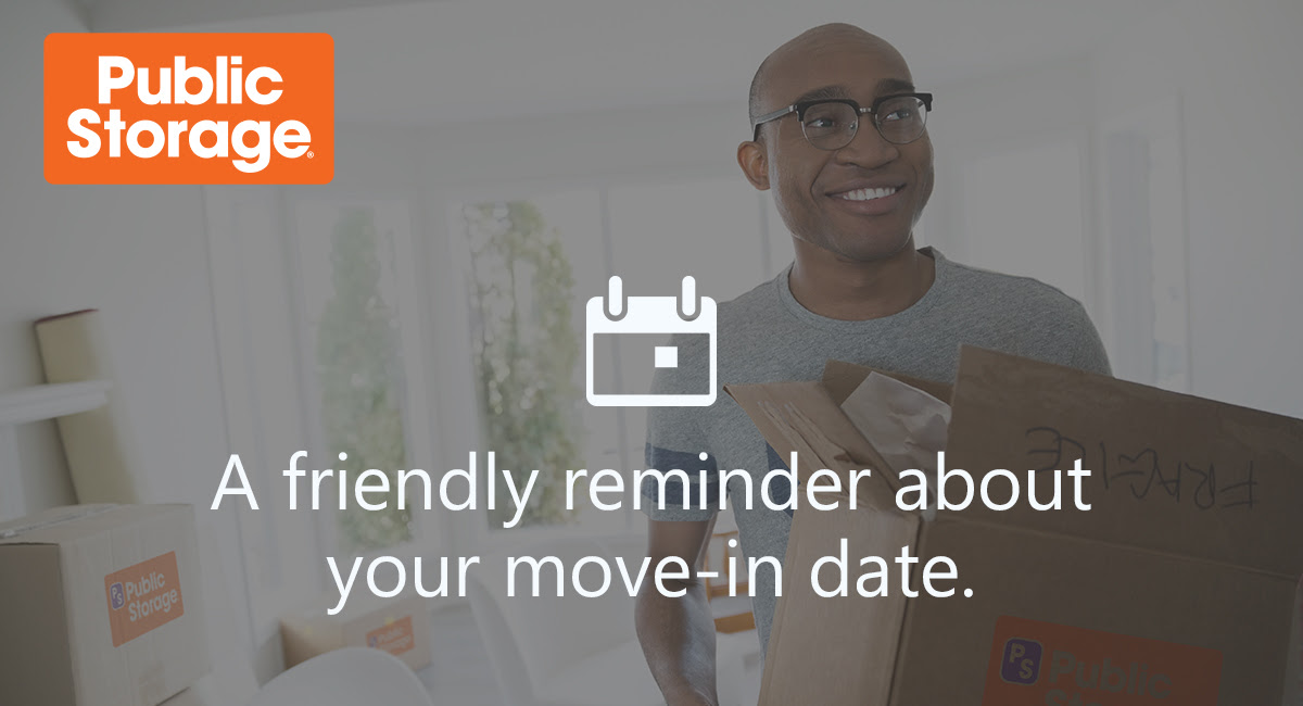 A friendly reminder about your move-in date