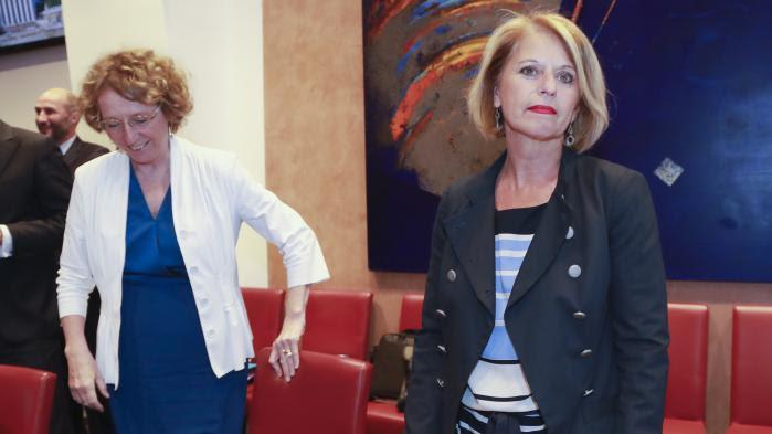 """VIDEO. La présidente de la commission des Affaires sociales s'insurge contre """"les insultes sexistes"""" et """"les menaces de mort par guillotine"""" qu'elle a reçues"""